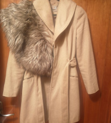 Orsay kaput s krznom kao nov