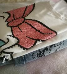 Lot traper suknja + disney majica