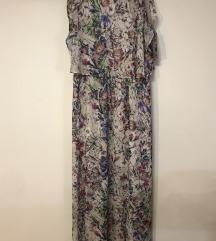 H&m maxi duga cvjetna haljina