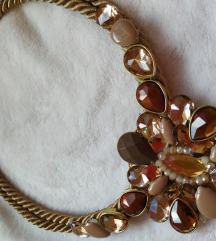 Smeđa ogrlica