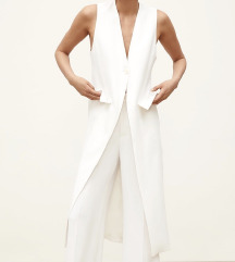 Zara bijeli waistcoat