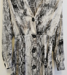 Zara haljina zmijski uzorak S