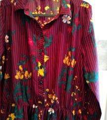 RASPRODAJA NOVO Jesenska haljina dugi rukavi
