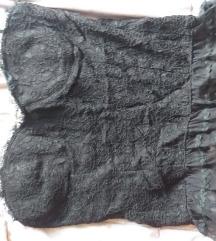 Venus Zoe crni top čipka