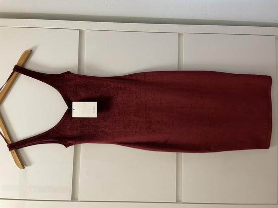 Pull&Bear plišana haljina