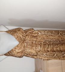 NOVA zmijska haljinaa