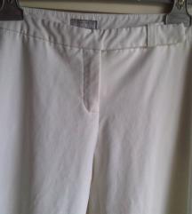 Bijele lagane ljetnje hlače 36