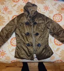 Zimska smede- zlatna jakna