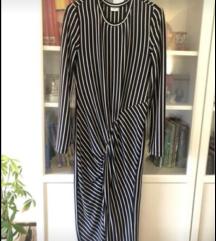 Asos prugasta haljina