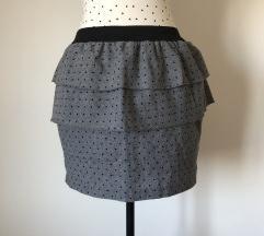 Peplum suknjica