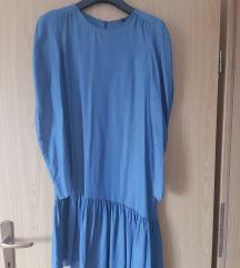 Zara jeans / denim haljina S