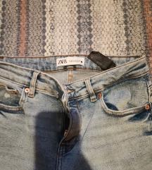 Zara skinny traperice