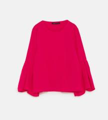 Nova Zara bluza fuksija xs s