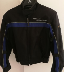 Nošena moto jakna