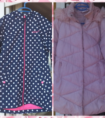 Dvije jakne za djevojčice Vel 152/158