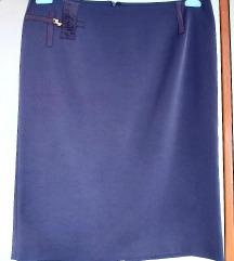 RASPRODAJA poslovna ljubičasta suknja