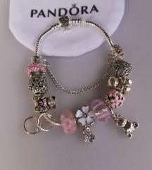 Pandora, narukvica, medvjedić, nova