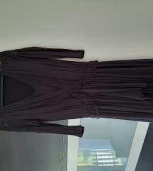 Mango haljina sa čipkom na ramenima M