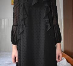 Zara collection haljina crna s poštarinom