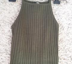 Zeleni lot: h&m top i ljetna haljina