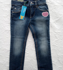 Benetton jeans hlače 3-4 g (xxs)