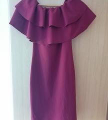 Bordo uska haljina/ UNI