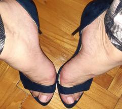 Tamno plave sandale, broj 37
