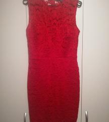 Haljina crvena (čipka)