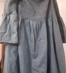 Haljina denim jeans boje