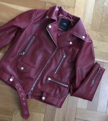 ZARA faux kožna jakna