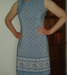 Svijetlo plava haljina, M/L