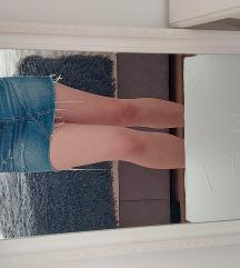 Jeans/teksas suknja