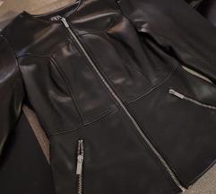 Zara kožna jakna, NOVO!