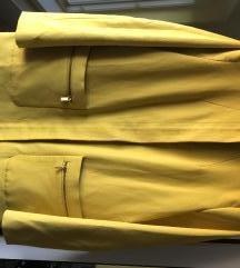 Mango žuta jakna /kaput /baloner