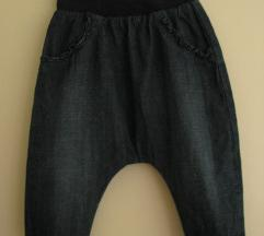 H&M baggy termo hlače - vel.80