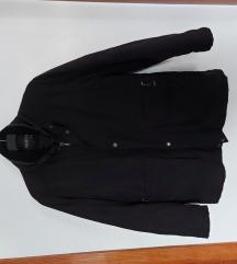 Zimska jakna   Muška   crna   keper