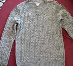 Pleteni džemper HM novo