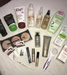 Lot kozmetike (make up i za njegu tijela/lica)