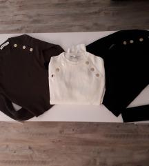 Tri nova Zara pulovera - pt. uključena