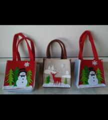 Male torbice za djecu sa zimskim motivima NOVO