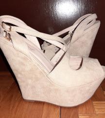 Wedge cipele