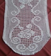 Heklani tabletić handmade