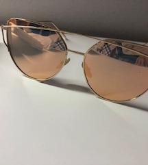 Sunčane naočale metalik pink