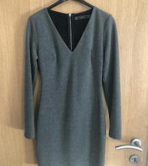 Siva Zara Uska Haljina
