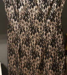 Diadema haljina s čipkom