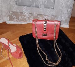Crvena torba, Valentino like, kao nova!