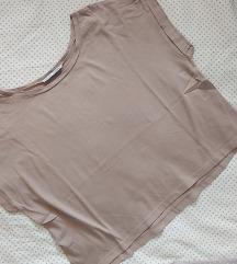 Nude beige crop top (pt uključena)