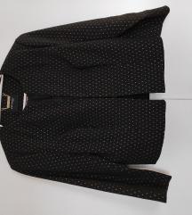 Orsay crno odijelo sa zlatnim točkama
