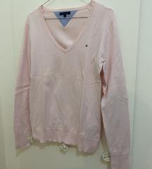 Tommy Hilfiger svijetlo rozi pulover