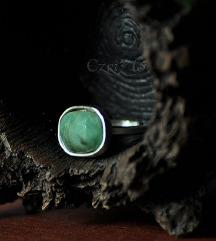 Prsten smaragd